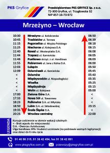 mrzeżyno - wrocław a6 1